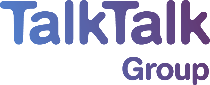 Our client: Talk Talk Group logo