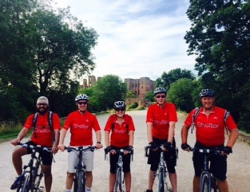 Click team completes 178 mile cycle challenge to raise over £3.5k for Shelter