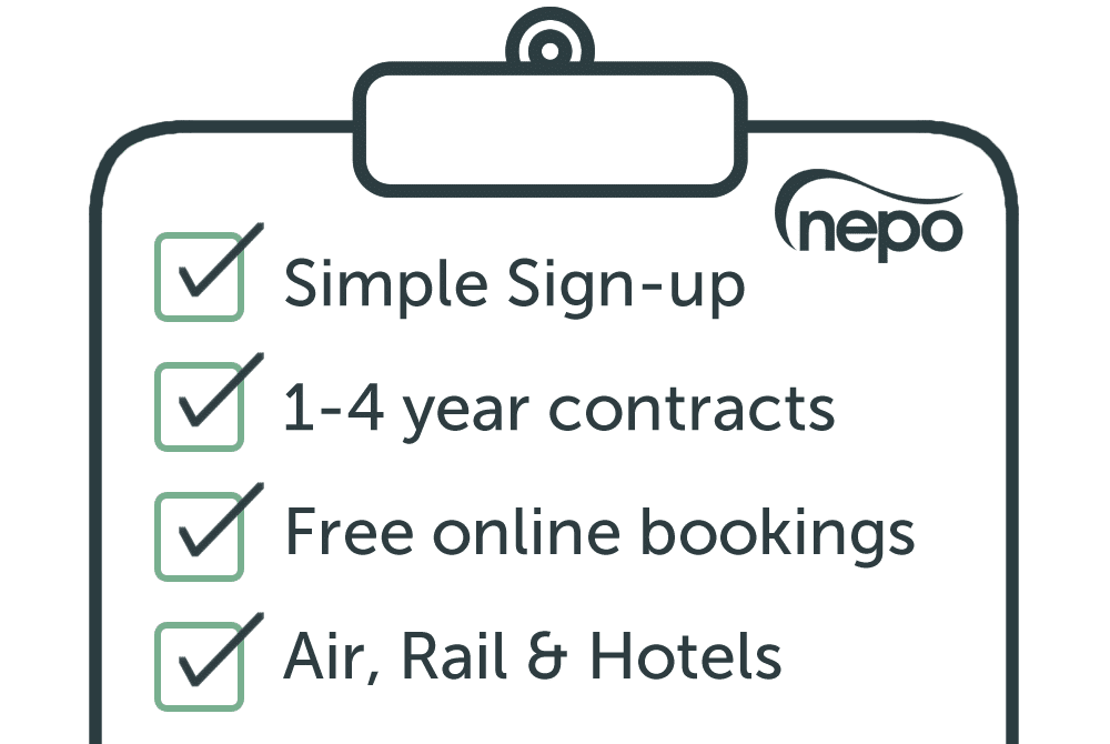NEPO Framework benefits for travel management