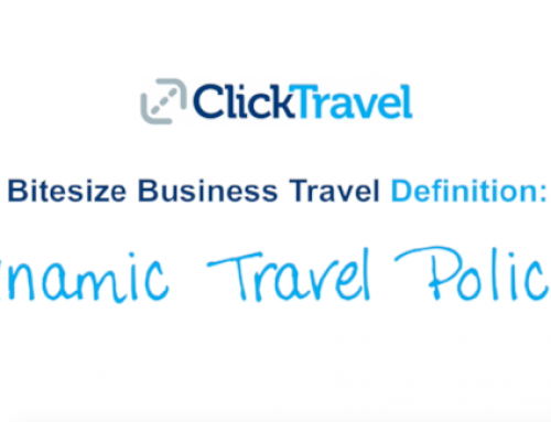 [VIDEO] Bitesize Business Travel Definition: Dynamic Travel Policies