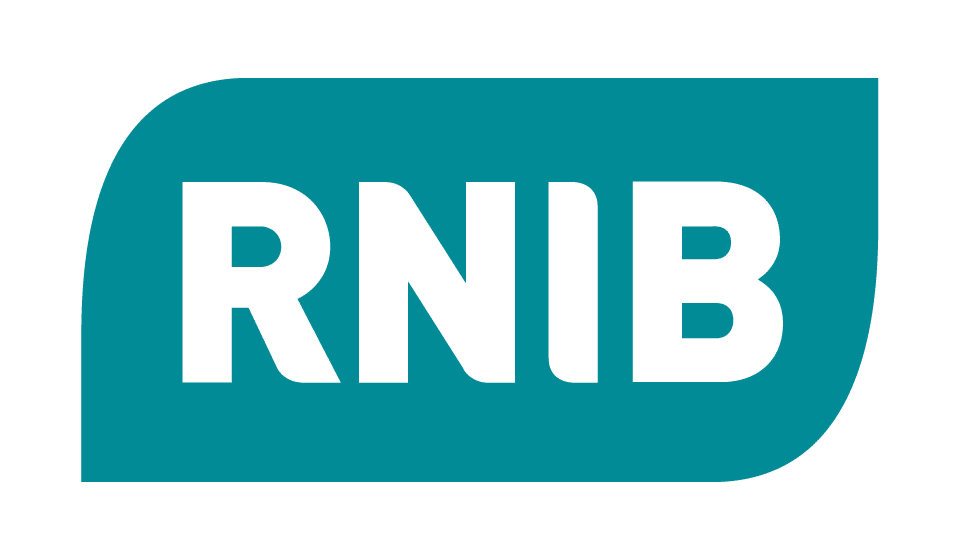Our client: RNIB logo