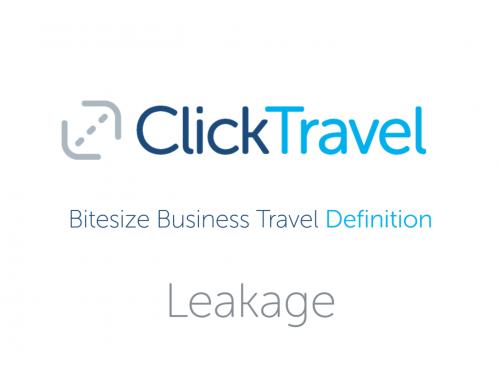 [VIDEO] Bitesize Business Travel Definition : Leakage