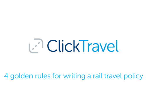 [VIDEO] 4 golden rules for writing a rail travel policy