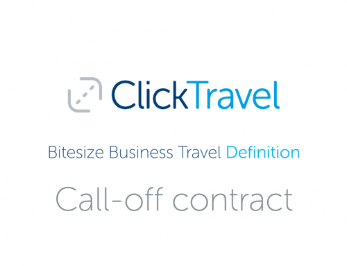 [VIDEO] Bitesize Business Travel Definition: Call off contract