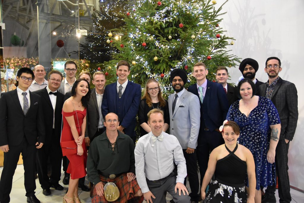 Click Travel's Product & Engineering Team at Christmas 2018